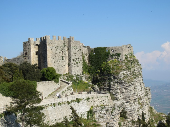 The castle in Erice
