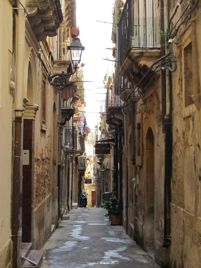 Narrow Streets of Ortygia